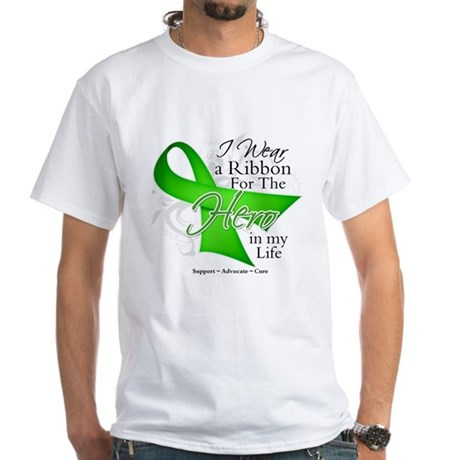 Non-Hodgkin's Lymphoma Hero i White T-Shirt