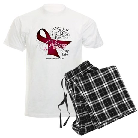 Multiple Myeloma Hero Men's Light Pajamas