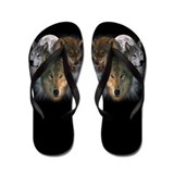 Unique Animals wildlife Flip Flops