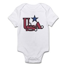 USA Star Infant Creeper