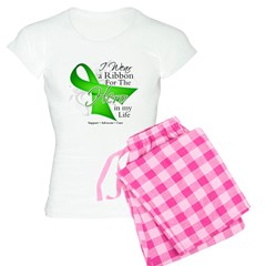 Lymphoma Hero in My Life Women's Light Pajamas