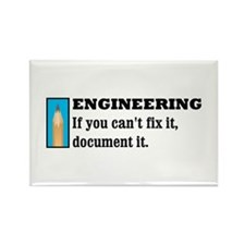 If You Can't Fix It Rectangle Magnet (10 pack)