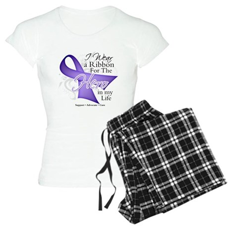 Cancer Hero in My Life Women's Light Pajamas