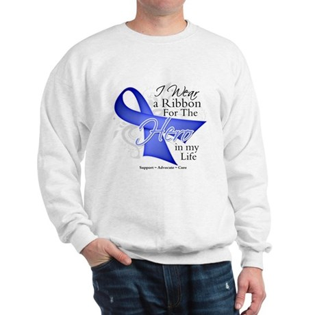 Esophageal Cancer Hero Sweatshirt