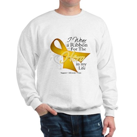 Childhood Cancer Hero Sweatshirt
