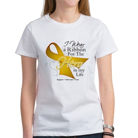 Childhood Cancer Hero Women's T-Shirt