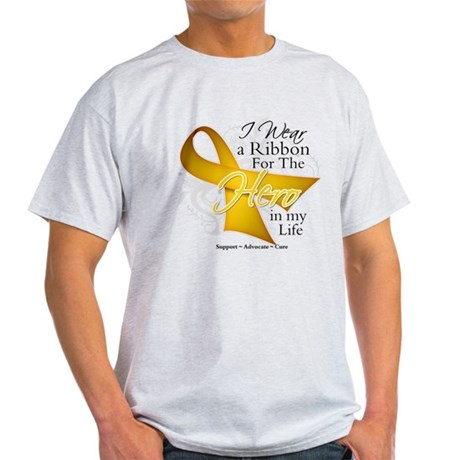 Childhood Cancer Hero Light T-Shirt