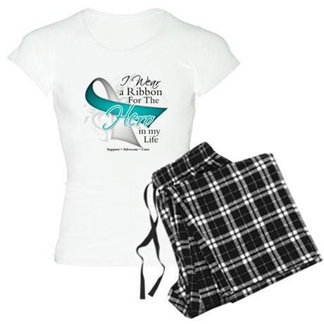 Cervical Cancer Hero Women's Light Pajamas