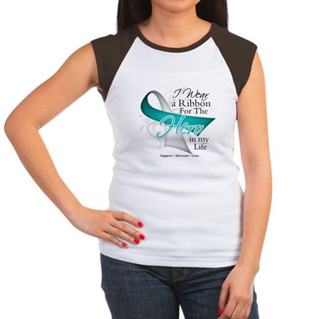 Cervical Cancer Hero Women's Cap Sleeve T-Shirt