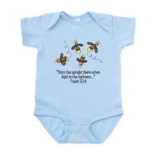 Fireflies & Bible Scripture Infant Bodysuit