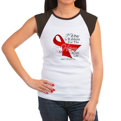 Blood Cancer Hero in My Life Women's Cap Sleeve T-