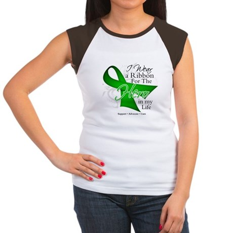 Bile Duct Cancer Hero Women's Cap Sleeve T-Shirt