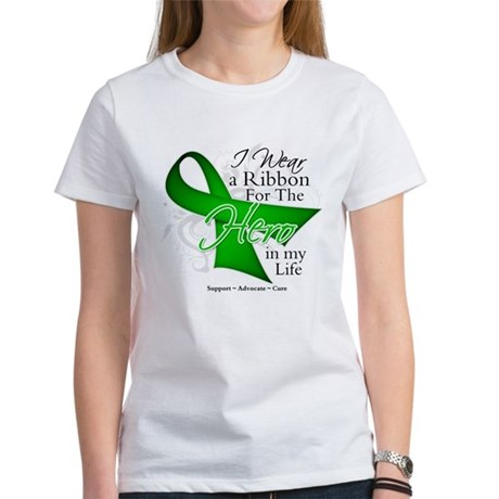Bile Duct Cancer Hero Women's T-Shirt
