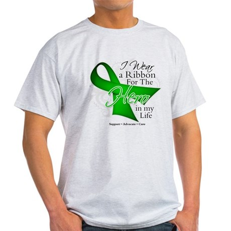 Bile Duct Cancer Hero Light T-Shirt