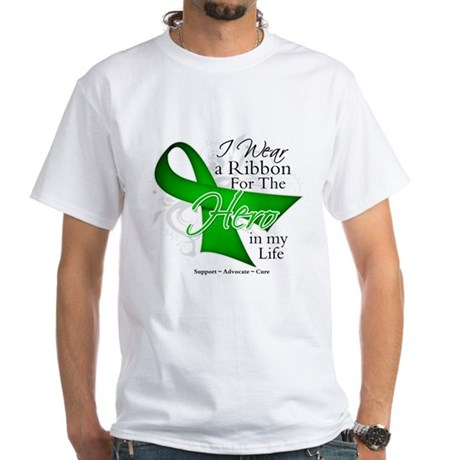 Bile Duct Cancer Hero White T-Shirt