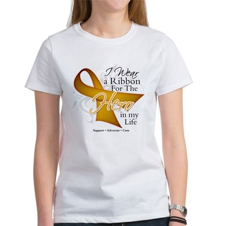 Appendix Cancer Hero Women's T-Shirt