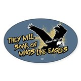 Soar on Wings like Eagles Decal