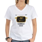 Super Bass Women's V-Neck T-Shirt