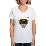 Super Bass Women's V-Neck T-Shirt