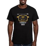 Super Bass Men's Fitted T-Shirt (dark)