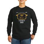 Super Bass Long Sleeve Dark T-Shirt