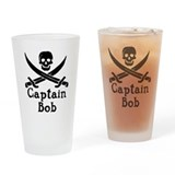Captain Bob Drinking Glass