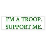 Support Me Bumper Bumper Sticker