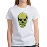 Green Skull Women's T-Shirt