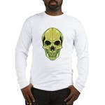 Green Skull Long Sleeve T-Shirt