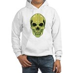 Green Skull Hooded Sweatshirt