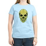 Green Skull Women's Light T-Shirt