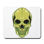 Green Skull Mousepad