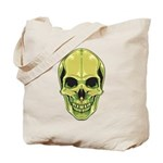 Green Skull Tote Bag