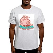 Makin Bacon Pigs T-Shirt