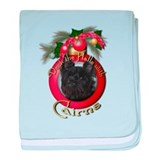 Christmas - Deck the Halls - Cairns baby blanket