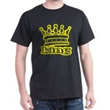 King Black T-Shirt
