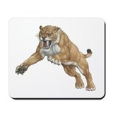 Smilodon Den Mousepad