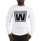 Mr. Wonderful Long Sleeve T-Shirt