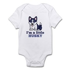 A Little Husky Infant Bodysuit