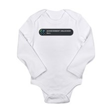 Born (Boy) Long Sleeve Infant Bodysuit