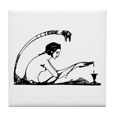 Faust #28 Tile Coaster