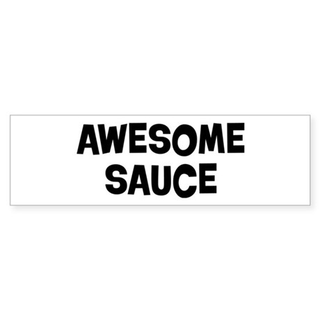 Awesome Sauce Sticker (Bumper)