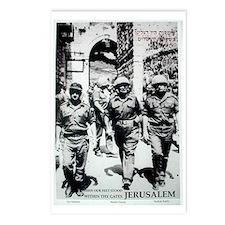 Yom Yerushalayim Postcards (Package of 8)
