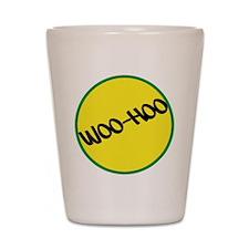 Woo-Hoo Yellow Shot Glass
