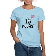 15th Birthday Butterfly T-Shirt
