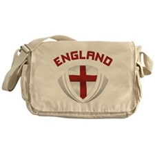 Soccer Crest ENGLAND red Messenger Bag
