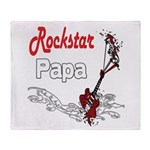 Rockstar Papas Throw Blanket