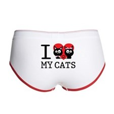 I love my cats Women's Boy Brief