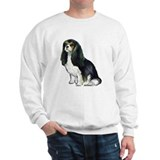 Black and tan Cavalier Sweatshirt