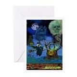 WITCH'S CALDRON Greeting Card